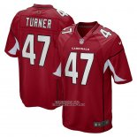 Camiseta NFL Game Arizona Cardinals Ezekiel Turner Rojo