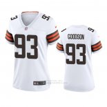 Camiseta NFL Game Mujer Cleveland Browns B.j. Goodson Blanco