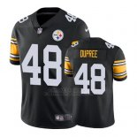 Camiseta NFL Limited Hombre Pittsburgh Steelers Bud Dupree Negro Vapor Untouchable Throwback