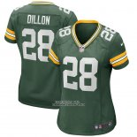 Camiseta NFL Game Mujer Green Bay Packers Aj Dillon Verde