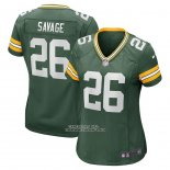 Camiseta NFL Game Mujer Green Bay Packers Darnell Savage Verde