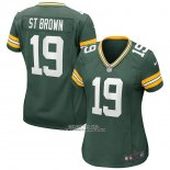 Camiseta NFL Game Mujer Green Bay Packers Equanimeous St. Brown Verde