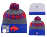 Gorro NFL Buffalo Bills Gris Azul Rojo