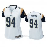 Camiseta NFL Game Mujer Los Angles Rams A'shawn Robinson Blanco