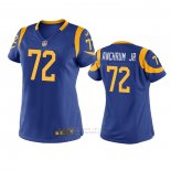 Camiseta NFL Game Mujer Los Angles Rams Tremayne Anchrum Jr. Azul