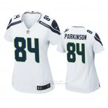 Camiseta NFL Game Mujer Seattle Seahawks Colby Parkinson Blanco