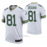 Camiseta NFL Legend Green Bay Packers 81 Josiah Deguara 2020 Blanco Color Rush