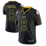 Camiseta NFL Limited Hombre Pittsburgh Steelers Chris Boswell Negro Color Rush 2018 Lights Out