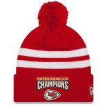 Gorro Beanie Kansas City Chiefs Blanco Rojo