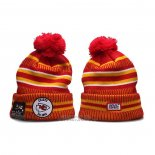 Gorro Beanie Kansas City Chiefs 100th Rojo Amarillo