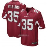 Camiseta NFL Game Arizona Cardinals Aeneas Williams Retired Rojo