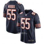 Camiseta NFL Game Chicago Bears Josh Woods Azul