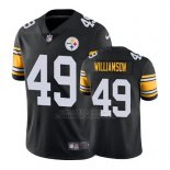 Camiseta NFL Limited Hombre Pittsburgh Steelers Christian Scotland Williamson Negro Vapor Untouchable Throwback