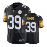 Camiseta NFL Limited Hombre Pittsburgh Steelers James Summers Negro Vapor Untouchable Throwback