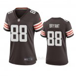 Camiseta NFL Game Mujer Cleveland Browns Harrison Bryant Marron