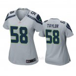 Camiseta NFL Game Mujer Seattle Seahawks Darrell Taylor Gris