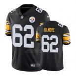 Camiseta NFL Limited Hombre Pittsburgh Steelers Greg Gilmore Negro Vapor Untouchable Throwback