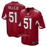 Camiseta NFL Game Arizona Cardinals Tanner Vallejo Rojo