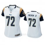 Camiseta NFL Game Mujer Los Angles Rams Tremayne Anchrum Jr. Blanco