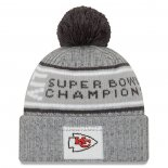 Gorro Beanie Kansas City Chiefs Gris2