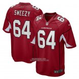 Camiseta NFL Game Arizona Cardinals J.r. Sweezy Rojo