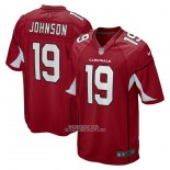 Camiseta NFL Game Arizona Cardinals Keesean Johnson Rojo