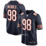 Camiseta NFL Game Chicago Bears Bilal Nichols Azul