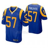 Camiseta NFL Game Hombre St Louis Rams John Franklin Myers Azul Amarillo