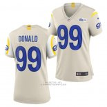Camiseta NFL Game Mujer Los Angles Rams Aaron Donald Blanco