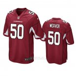 Camiseta NFL Game Arizona Cardinals Evan Weaver Rojo