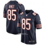 Camiseta NFL Game Chicago Bears Cole Kmet 85 Azul