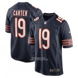 Camiseta NFL Game Chicago Bears Deandre Carter Azul