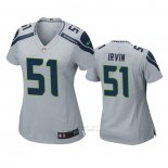 Camiseta NFL Game Mujer Seattle Seahawks Bruce Irvin Gris