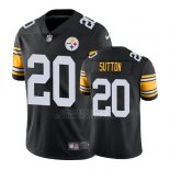 Camiseta NFL Limited Hombre Pittsburgh Steelers Cameron Sutton Negro Vapor Untouchable Throwback