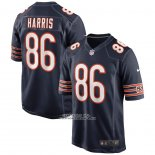 Camiseta NFL Game Chicago Bears Demetrius Harris 86 Azul
