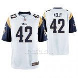 Camiseta NFL Game Hombre St Louis Rams John Kelly Blanco