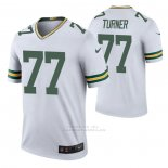 Camiseta NFL Legend Green Bay Packers Billy Turner Color Rush Blanco