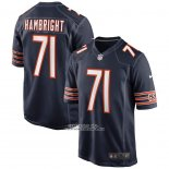 Camiseta NFL Game Chicago Bears Arlington Hambright 71 Azul