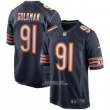 Camiseta NFL Game Chicago Bears Eddie Goldman Azul