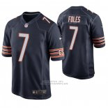 Camiseta NFL Game Chicago Bears Nick Foles Azul