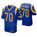 Camiseta NFL Game Hombre St Louis Rams Joseph Noteboom Azul Amarillo