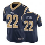 Camiseta NFL Game Hombre St Louis Rams Marcus Peters Azul