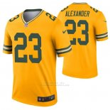 Camiseta NFL Legend Green Bay Packers Jaire Alexander Inverted Oro