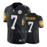 Camiseta NFL Limited Hombre Pittsburgh Steelers Ben Roethlisberger Negro Vapor Untouchable Throwback