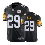 Camiseta NFL Limited Hombre Pittsburgh Steelers Brian Allen Negro Vapor Untouchable Throwback