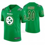 Camiseta NFL Limited Hombre Pittsburgh Steelers James Conner St. Patrick's Day Verde