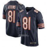 Camiseta NFL Game Chicago Bears Doug Atkins Retired Azul