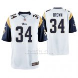 Camiseta NFL Game Hombre St Louis Rams Malcolm Marron Blanco