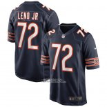 Camiseta NFL Game Chicago Bears Charles Leno Jr. Azul