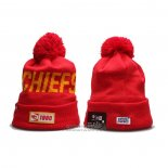 Gorro Beanie Kansas City Chiefs 100th Rojo